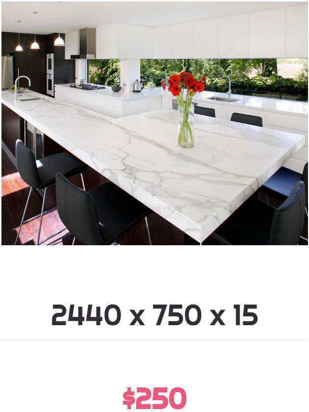 stone benchtops Melbourne price $250