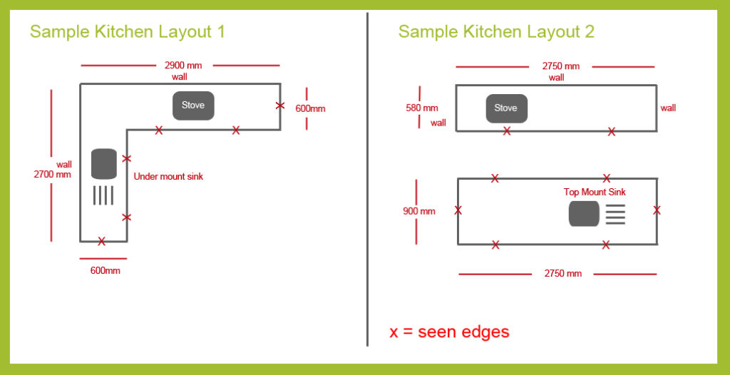 Kitchen Layout Samples