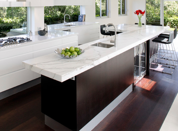 how to cut stone benchtop